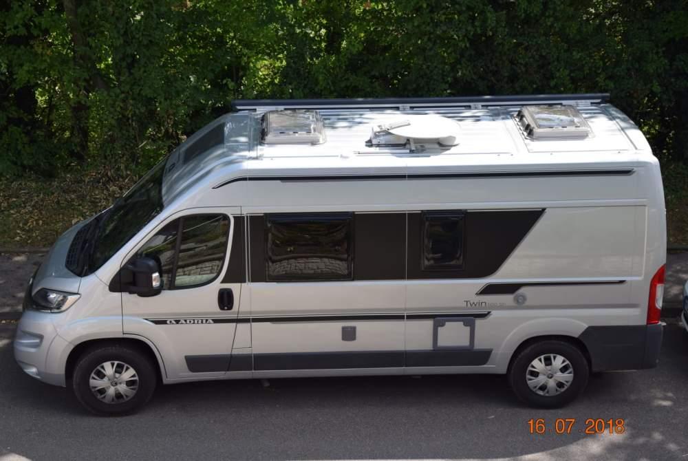 Buscamper Citroen Twin600 in Möglingen huren van particulier
