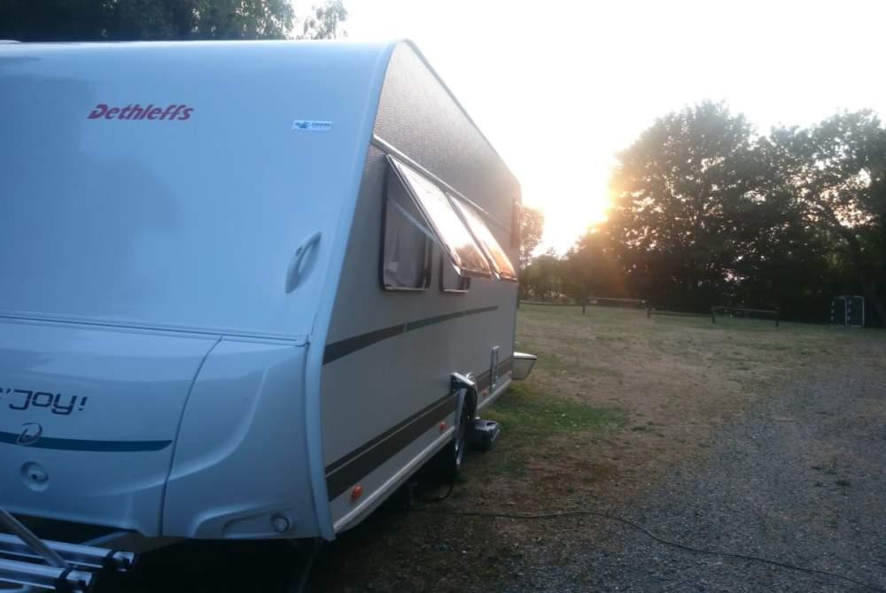 Caravan Dethleffs  Detti  in Werder (Havel) huren van particulier