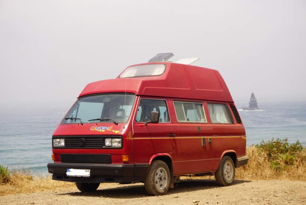 Kampeerbus Volkswagen Kalle in Sevilla huren van particulier