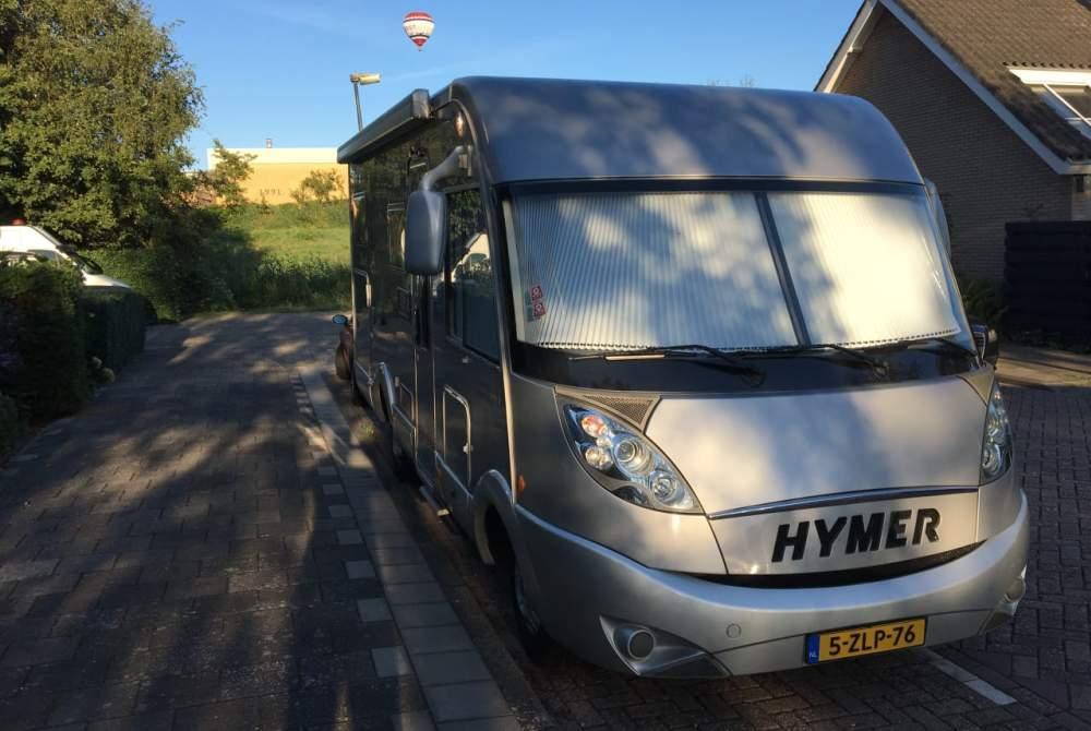 Integraal Hymer Luxe Hymer in Waddinxveen huren van particulier