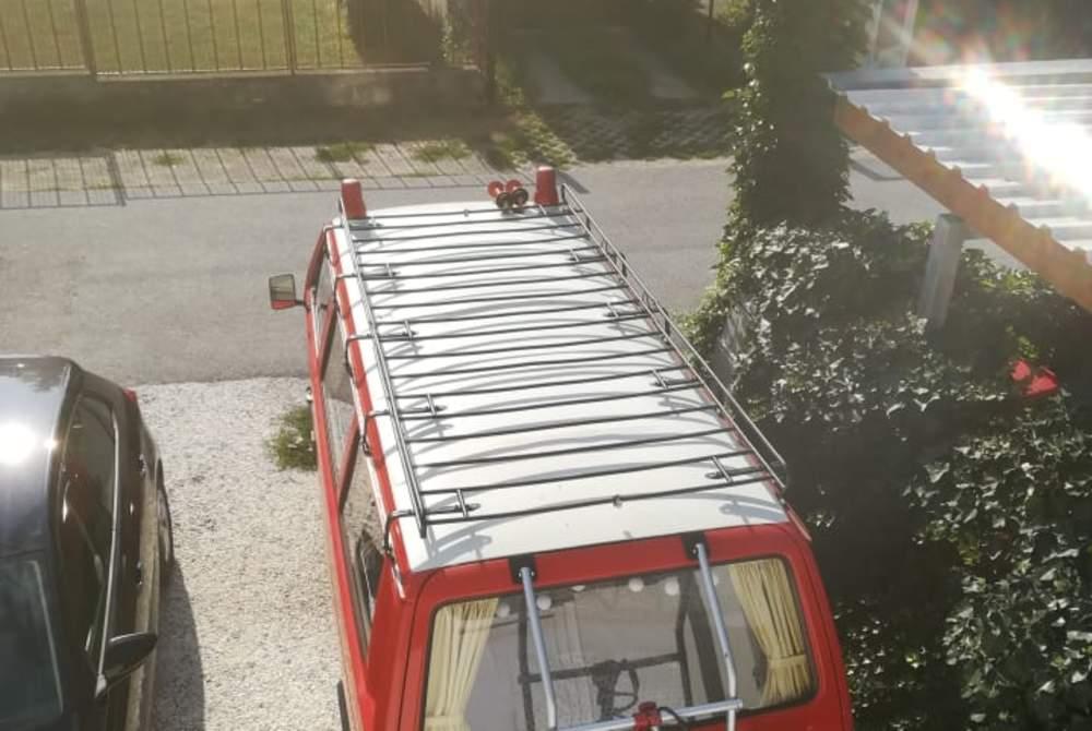 Kampeerbus Volkswagen RedBulli in Langenzersdorf huren van particulier