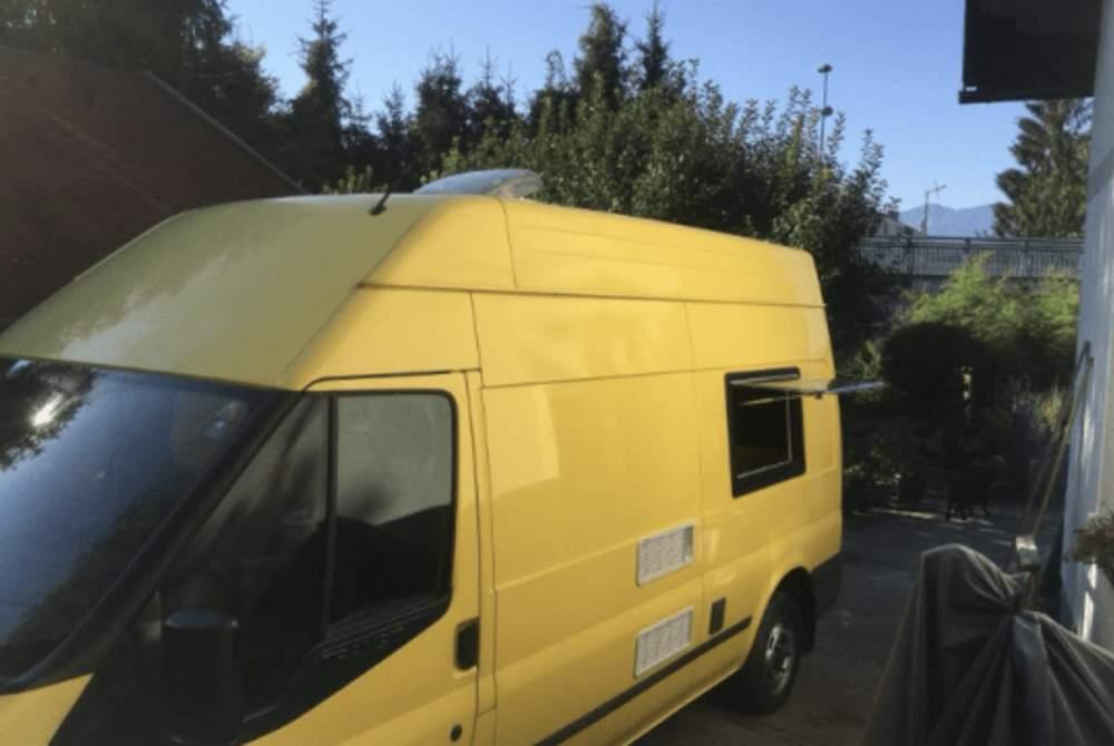Buscamper Ford  Fridolin in Villach huren van particulier