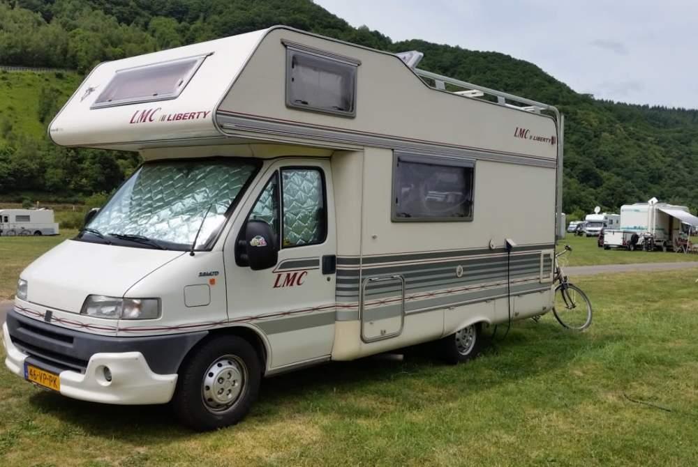 Alkoof FIAT Camper 5 in Hoorn huren van particulier