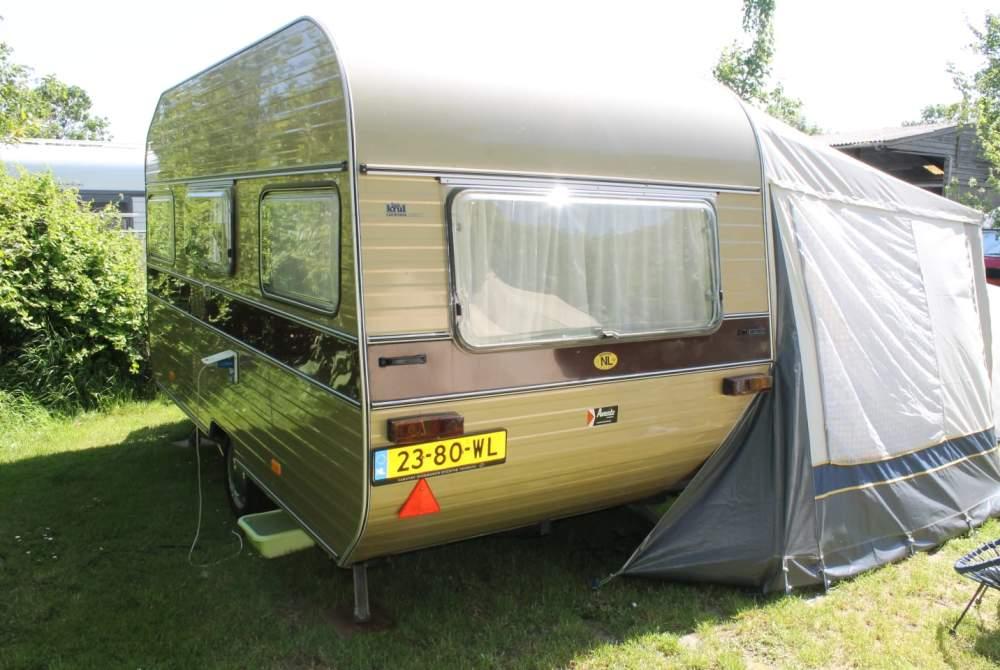 Caravan Avento Hip reispaleis  in Hilversum huren van particulier
