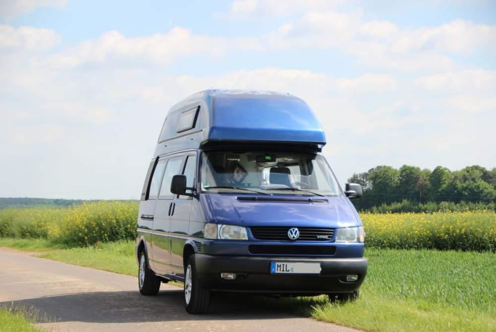 Kampeerbus Volkswagen Paula in Bürgstadt huren van particulier