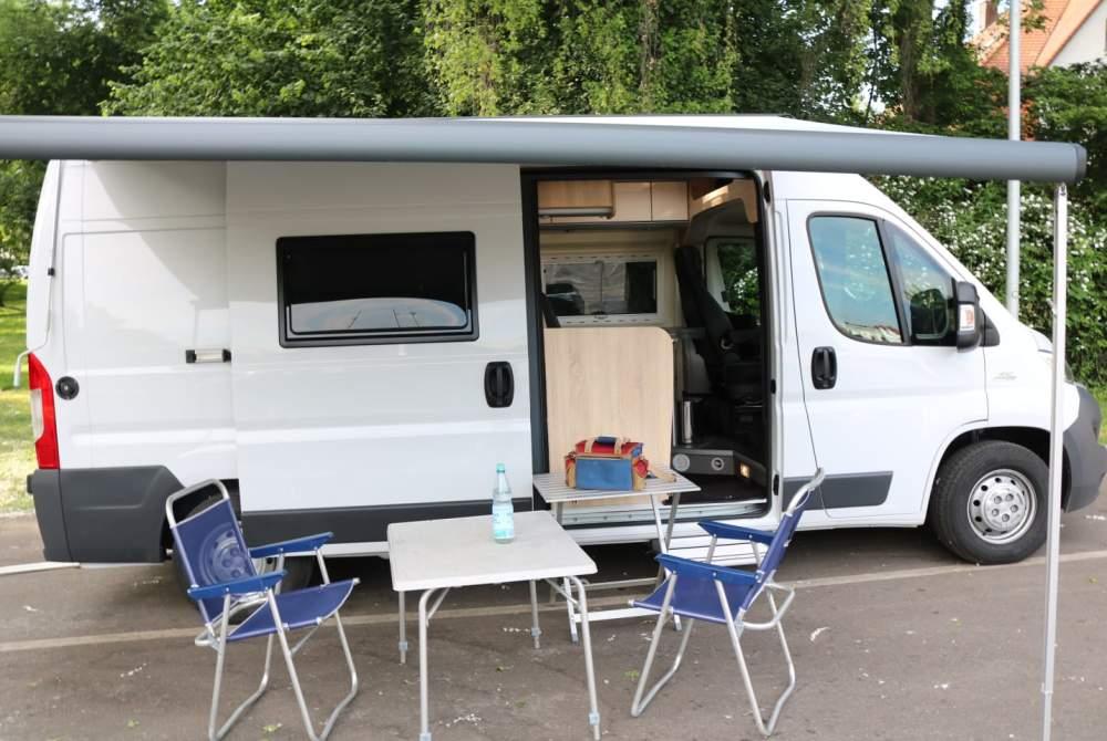 Buscamper Clever Fiat  Ducato 3,0 Automatik /  177 PS /  Vollausstattung Leder / TV in Göppingen huren van particulier