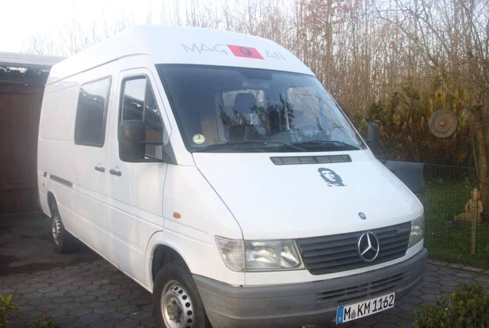 Buscamper Mercedes Benz Sprinter  Che in Karlsfeld huren van particulier