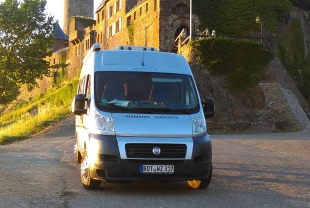 Buscamper Fiat Dukato Zawomo's Pössl 2Win in Bottrop huren van particulier