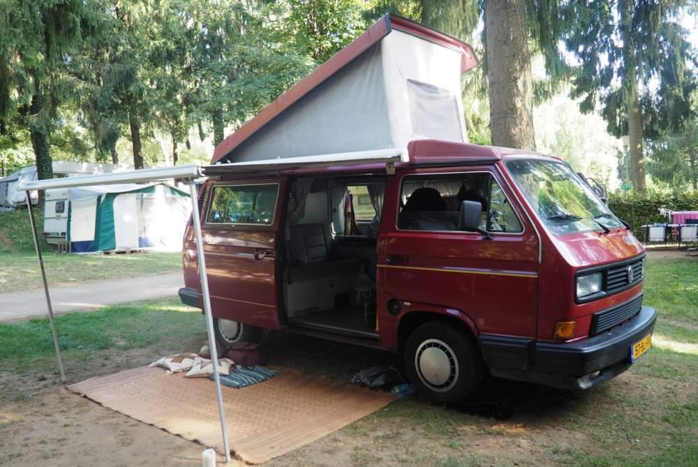 Kampeerbus Volkswagen Kweens in Helmond huren van particulier