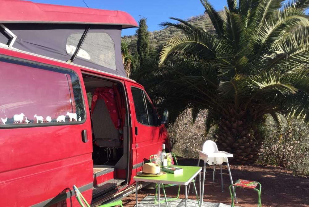 Kampeerbus Ford Ted in Málaga huren van particulier