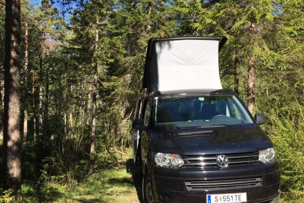 Kampeerbus Volkswagen Mavi in Salzburg huren van particulier