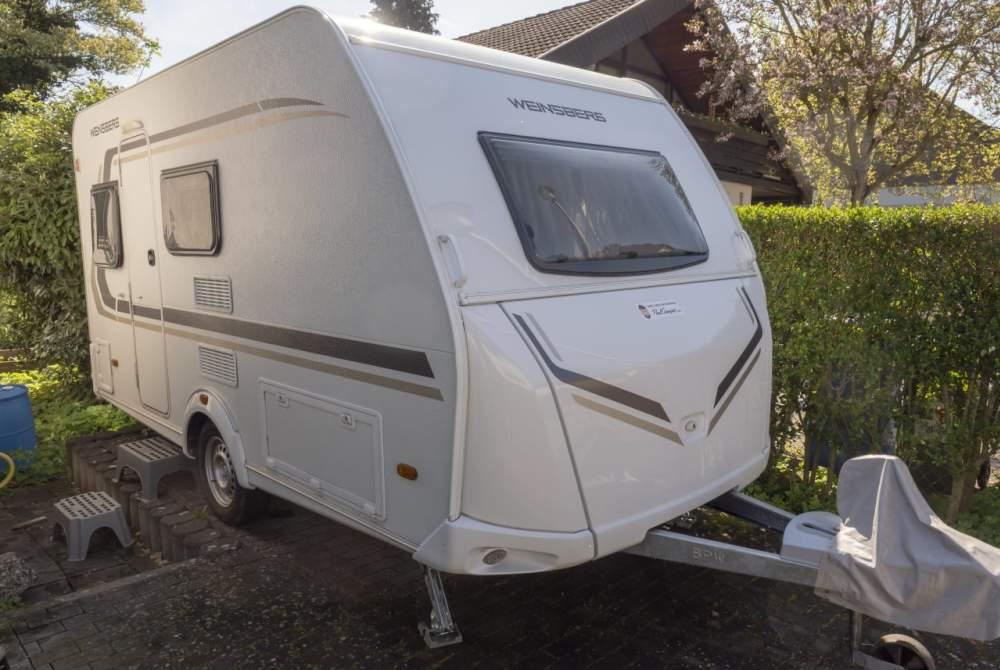 Caravan Weinsberg Weinsberg Caraone 390 QD 2017er Modell in Reinheim huren van particulier