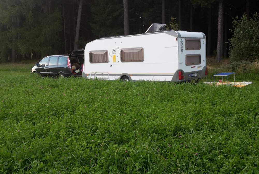 Caravan Knaus Wilson in Bersteland huren van particulier