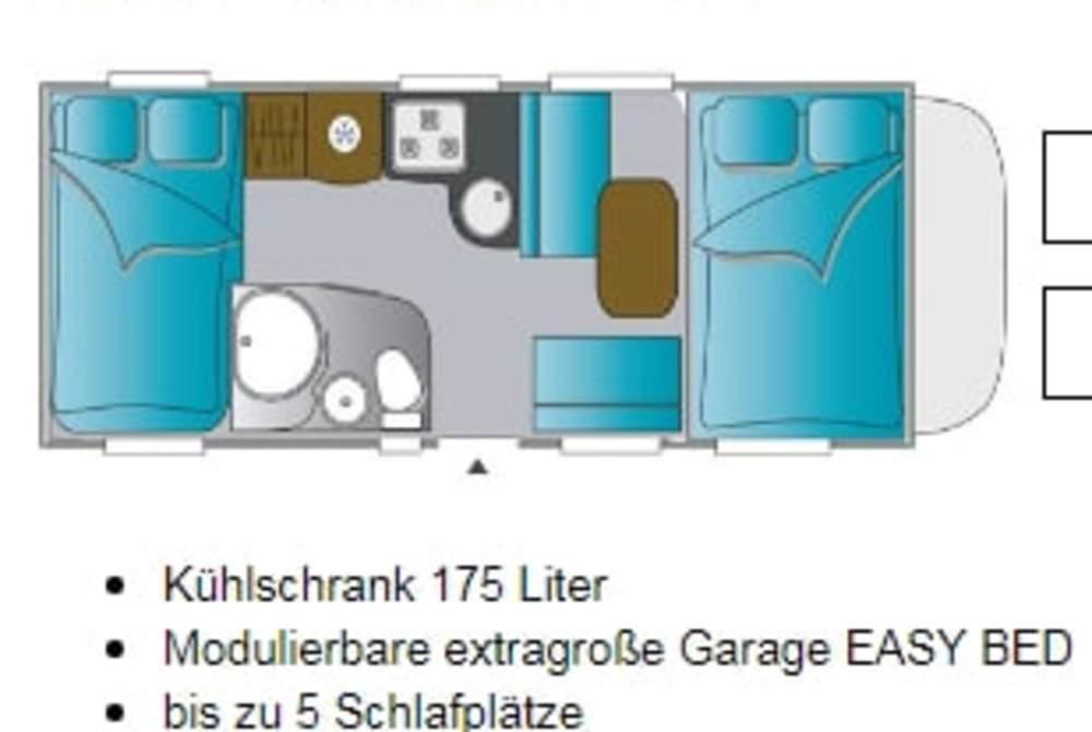 Alkoof Challenger Ehwaz in Dresden huren van particulier