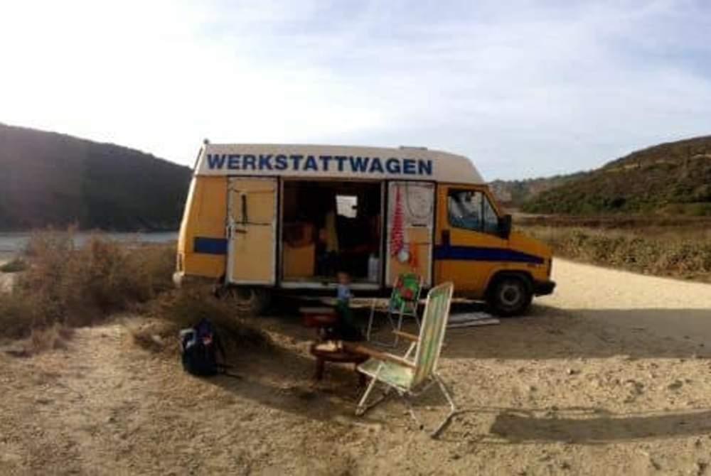 Buscamper Fiat  Werkstattwagen aka WERKE in Aljezur huren van particulier