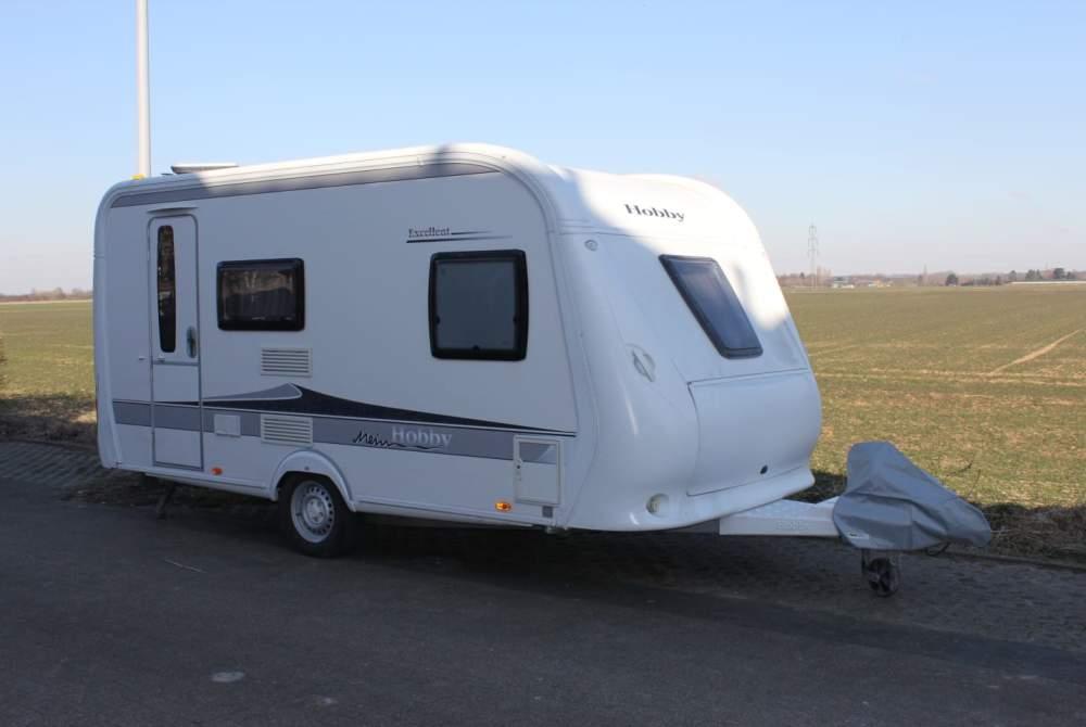 Caravan Hobby Hobby 410 SFe in Krefeld huren van particulier