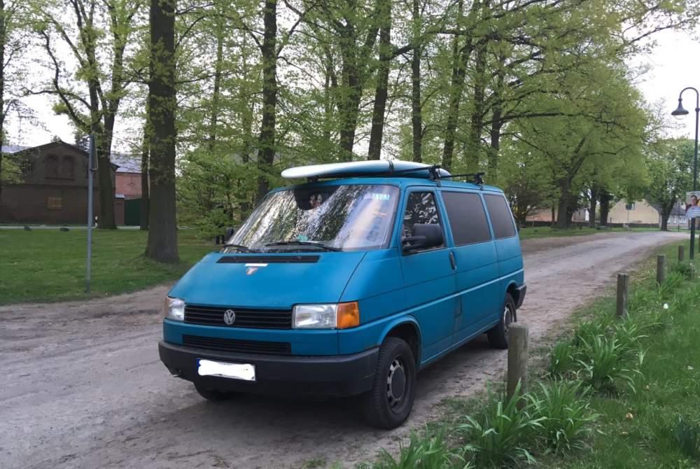 Kampeerbus Volkswagen Balu in Bernau bei Berlin huren van particulier