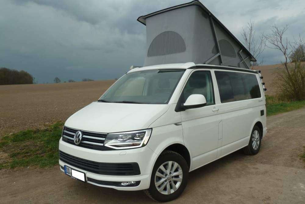 Kampeerbus Volkswagen  T6 California Ocean 2,0 TDI 110 kw  in Dresden huren van particulier