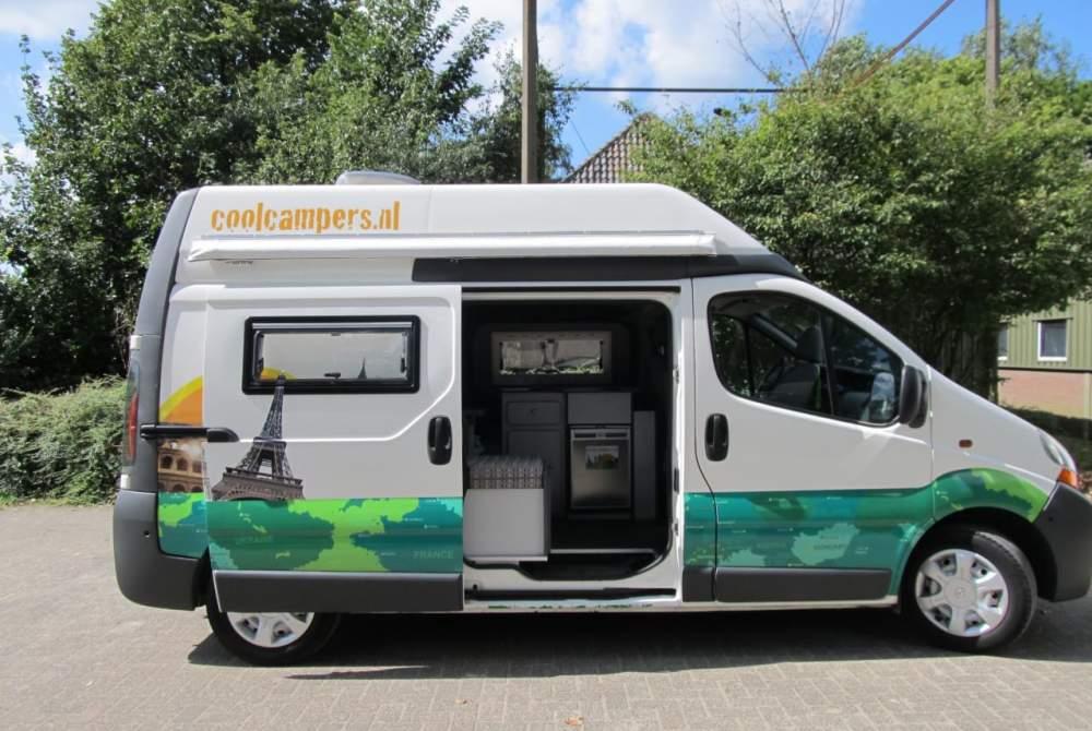 Buscamper Renault  Coole camper Type 2 in Amersfoort huren van particulier