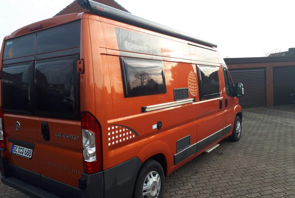 Buscamper Dethleffs/Globecar Bernds Globescout in Henstedt-Ulzburg huren van particulier