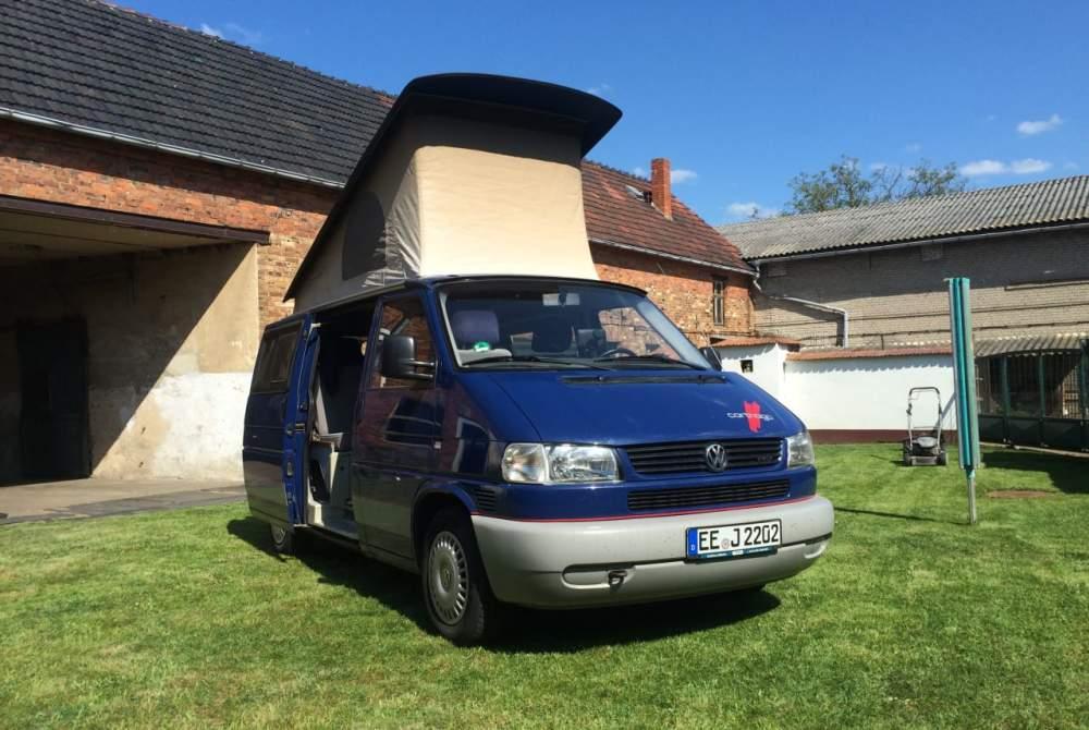 Kampeerbus VW Ted in Rauma huren van particulier