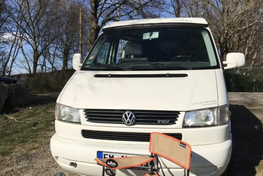 Kampeerbus Volkswagen Emil in Denzlingen huren van particulier