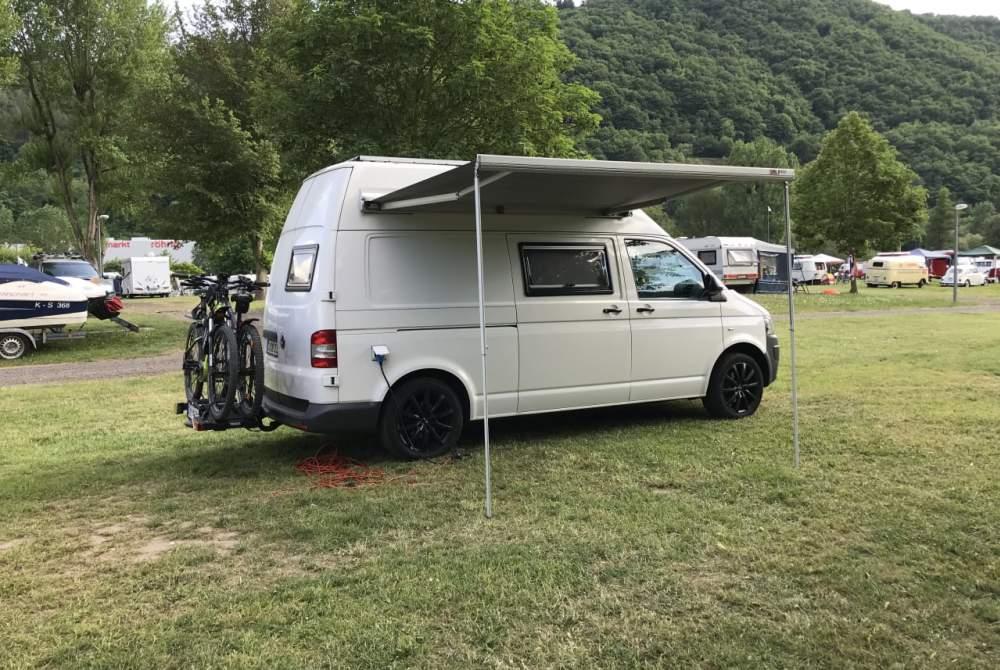 Kampeerbus Volkswagen Camper in Lautzenhausen huren van particulier