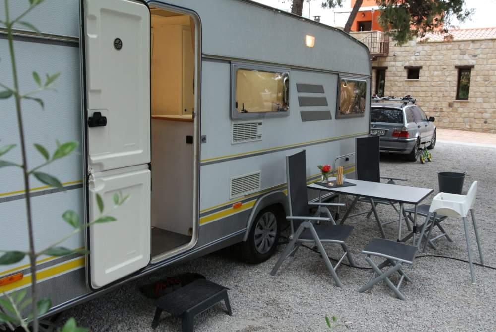 Caravan Eriba Familienglück Emma in Stephanskirchen huren van particulier