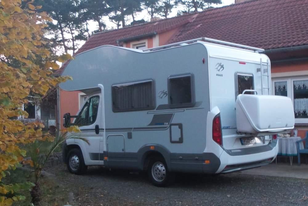 Alkoof Fiat Polaris  in Kreba-Neudorf huren van particulier