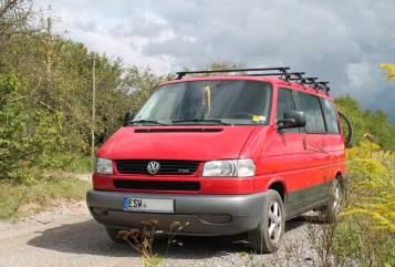 Kampeerbus Volkwagen Ruby in Wanfried huren van particulier