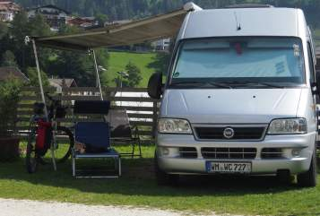 Buscamper Fiat Ducato  Closette in Weilheim i. OB huren van particulier
