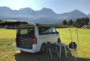 Kampeerbus VW T6 California  Alpenbulli in Berchtesgaden huren van particulier