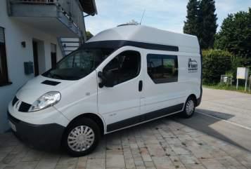 Kampeerbus Renault Mounty in Prien a. Chiemsee huren van particulier