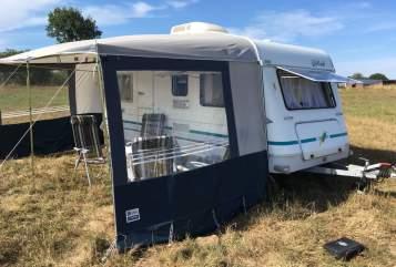 Caravan Knaus Knausi in Bargfeld-Stegen huren van particulier