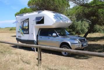 Overige Mitsubishi L200 PickUp Camper in Dohna huren van particulier