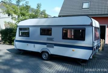 Caravan Hobby Familienwagen  in Königs Wusterhausen huren van particulier