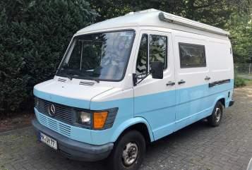 Kampeerbus Mercedes Magic Bus in Schneverdingen huren van particulier