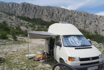 Kampeerbus Volkswagen  BiberMobil in Innsbruck huren van particulier