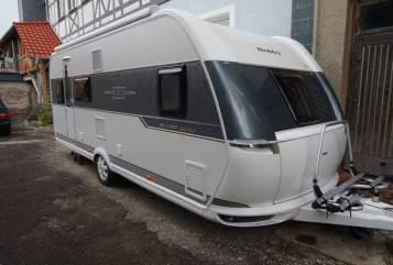 Caravan Hobby Daisy in Uder huren van particulier