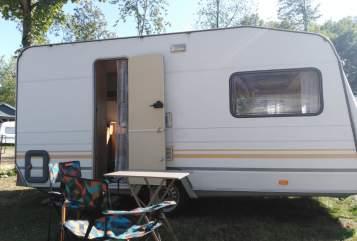 Caravan Knaus Wilma in Augsburg huren van particulier