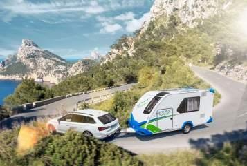 Caravan Knaus QL480  +Roller mög. in Stockach huren van particulier