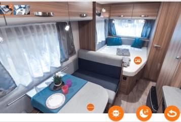 Caravan Weinsberg  Olivia in Göppingen huren van particulier