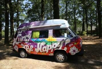 Kampeerbus Volkswagen Fay in Eindhoven huren van particulier