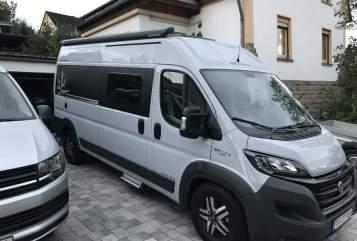 Buscamper Westfalia Kiwi Columbus in Mertesdorf huren van particulier