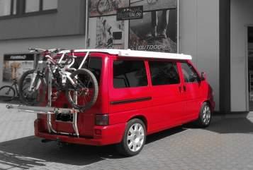 Kampeerbus VW red-bus in Anröchte huren van particulier