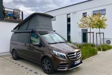 Kampeerbus Mercedes Merci in Putbus huren van particulier