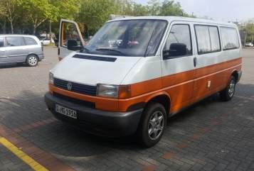 Kampeerbus VW Bulli-Tour in Düsseldorf huren van particulier