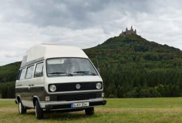 Kampeerbus Volkswagen SkyPi in Stuttgart huren van particulier