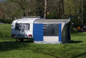 Caravan QEK Susi in Weimar huren van particulier