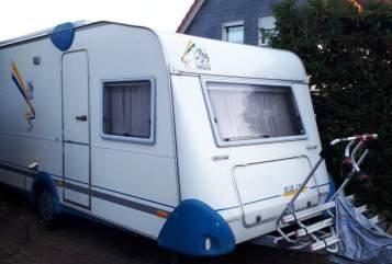 Caravan Knaus Blaue Linie 2 in Remscheid huren van particulier